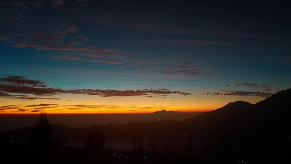 Ausblick bis nach Lombok!