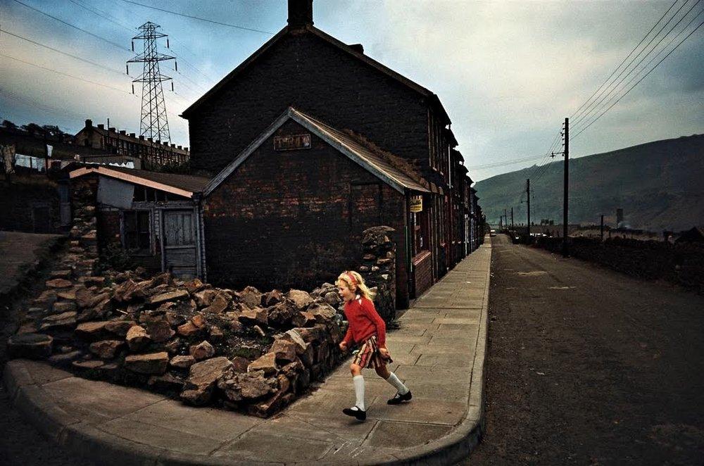 Cheryl, Waun-Lwyd, Wales 1965 by Bruce Davidson / Magnum Photos