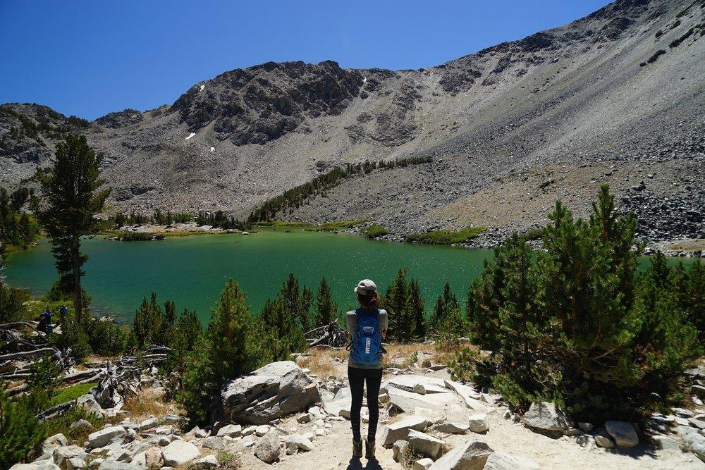 Hiking to Duck Lake