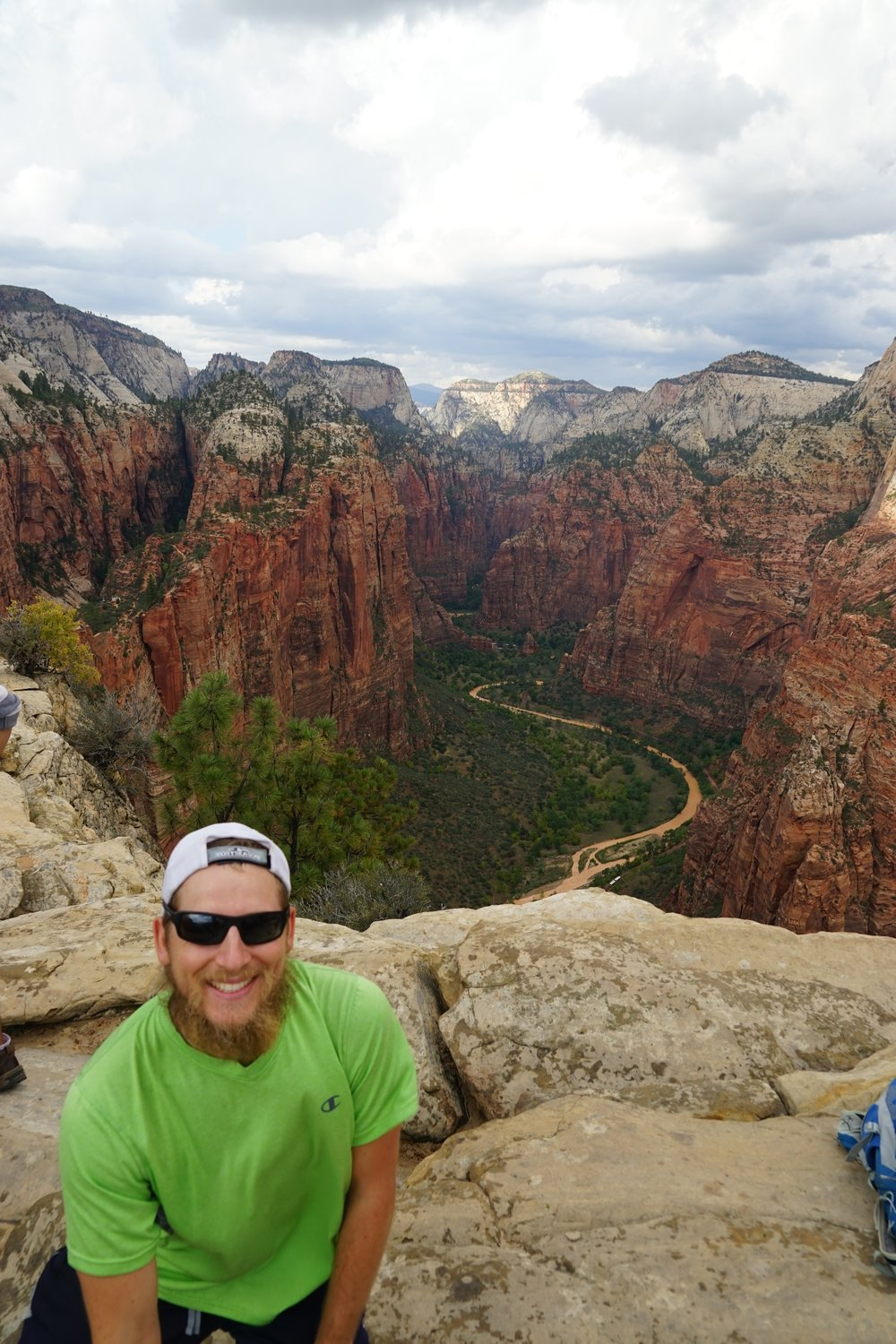 The top of Angels Landing