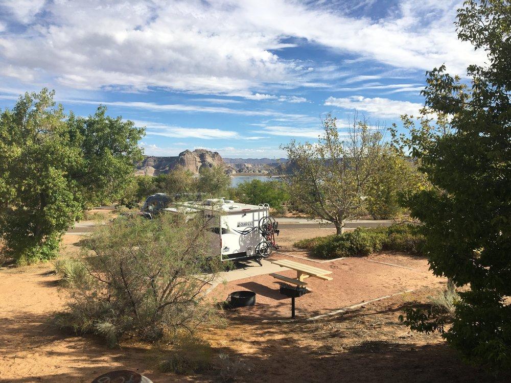 Camping at  Wahweap RV & Campground