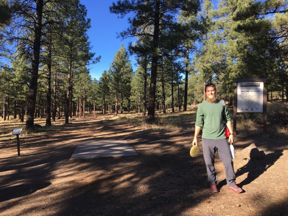 McPherson's Frisbee Golf Course Flagstaff Arizona