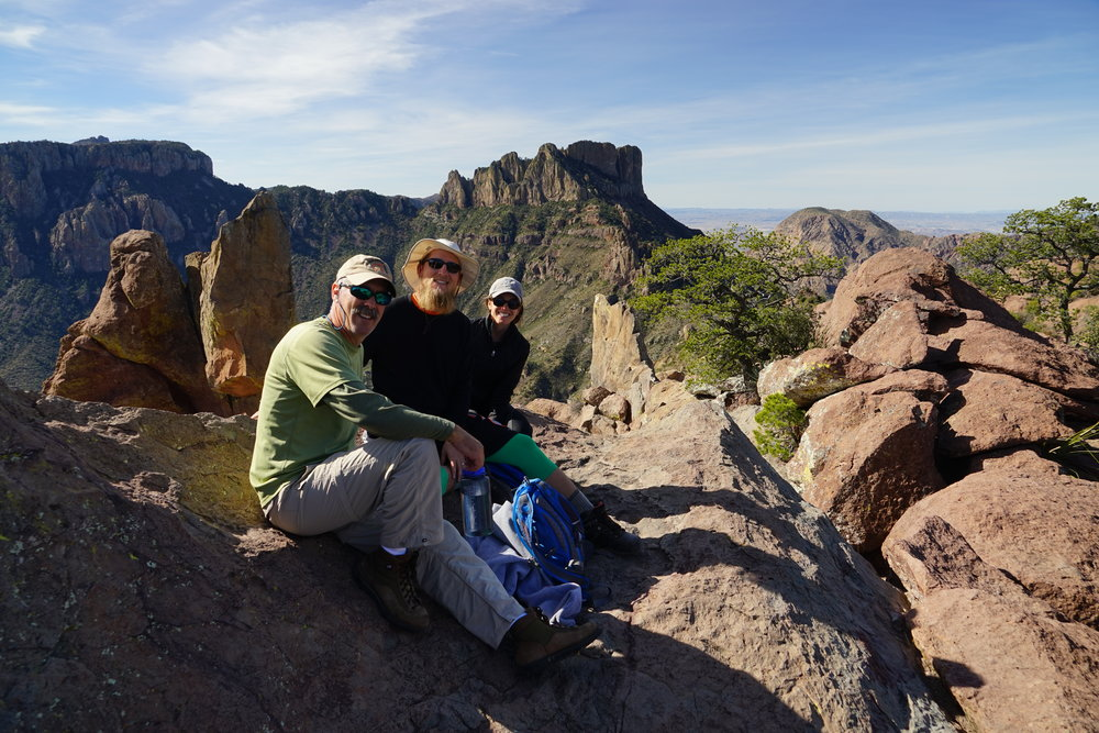 Lost Mine Trail Big Bend National Park party like its 1995