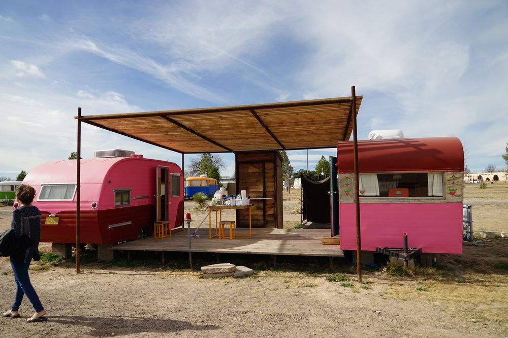 El Cosmico, Marfa, Texas