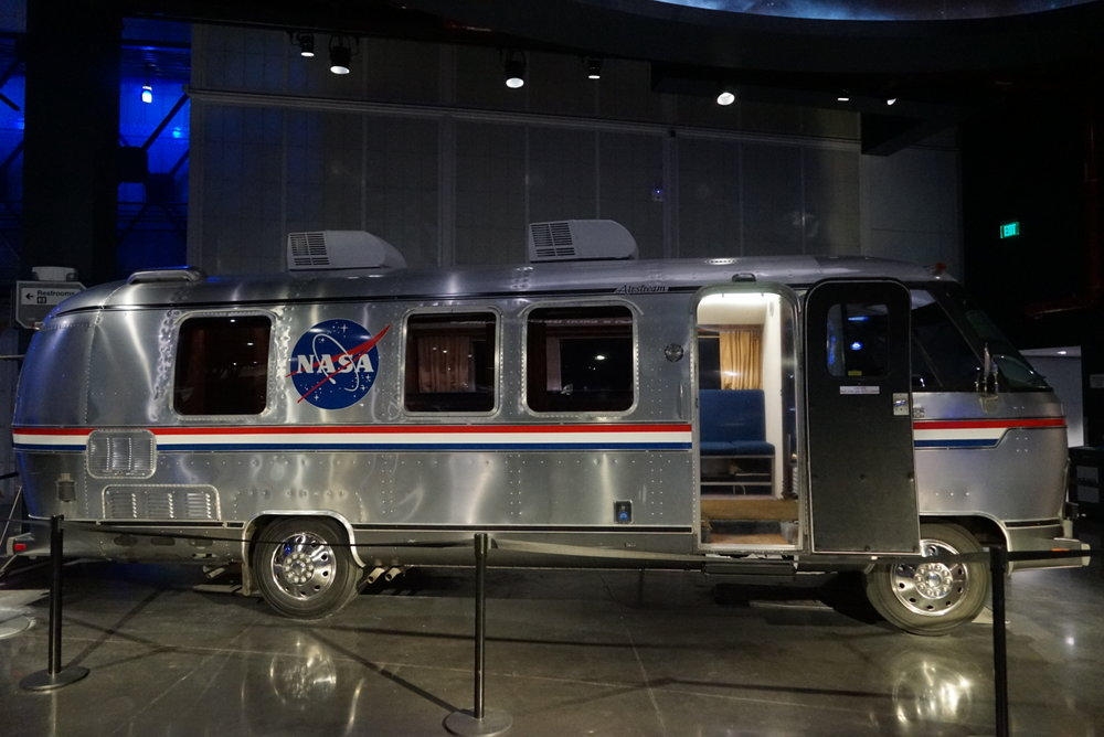The Airstream astronauts take to launch pads