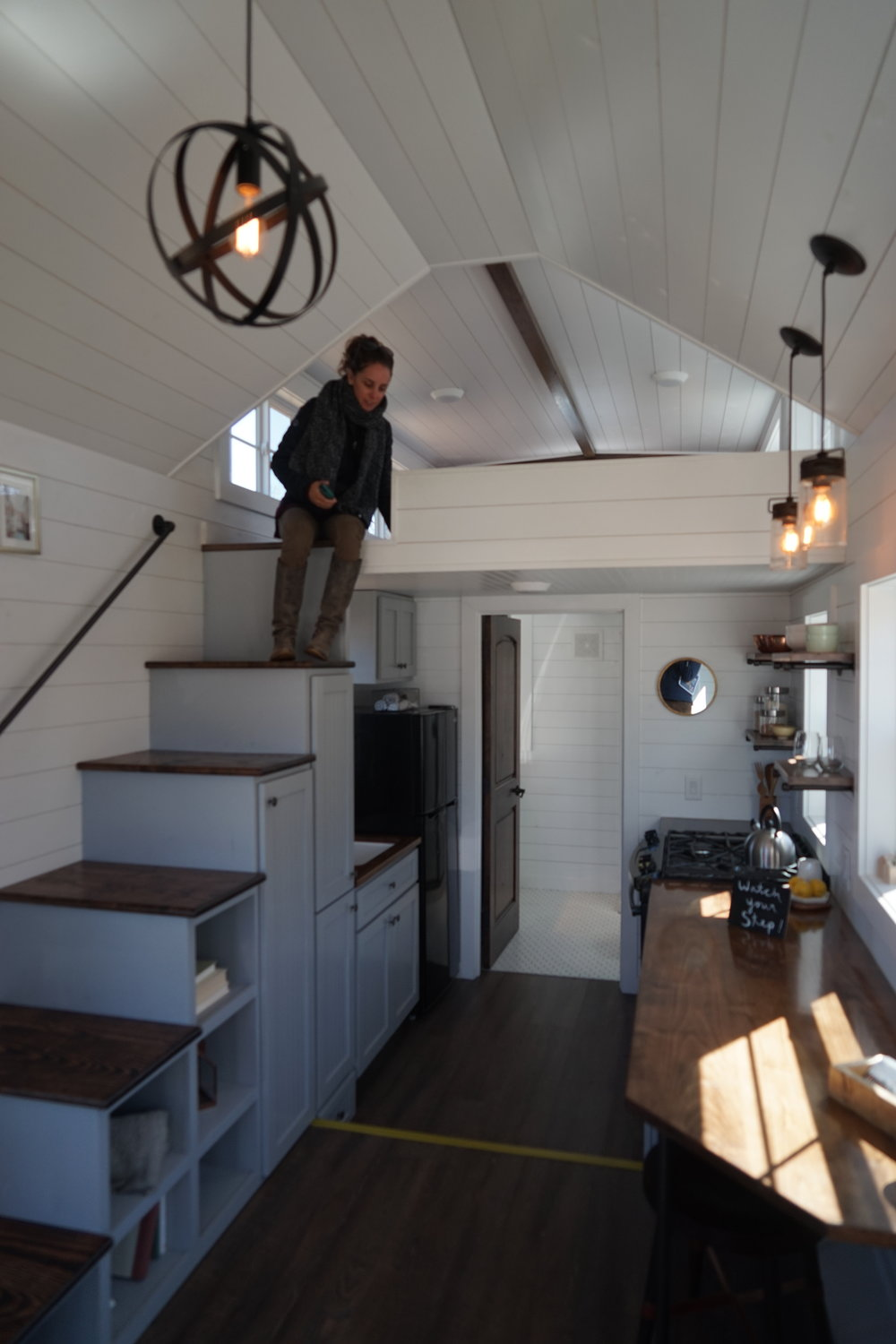 The inside of my fav tiny home by Mustard Seed