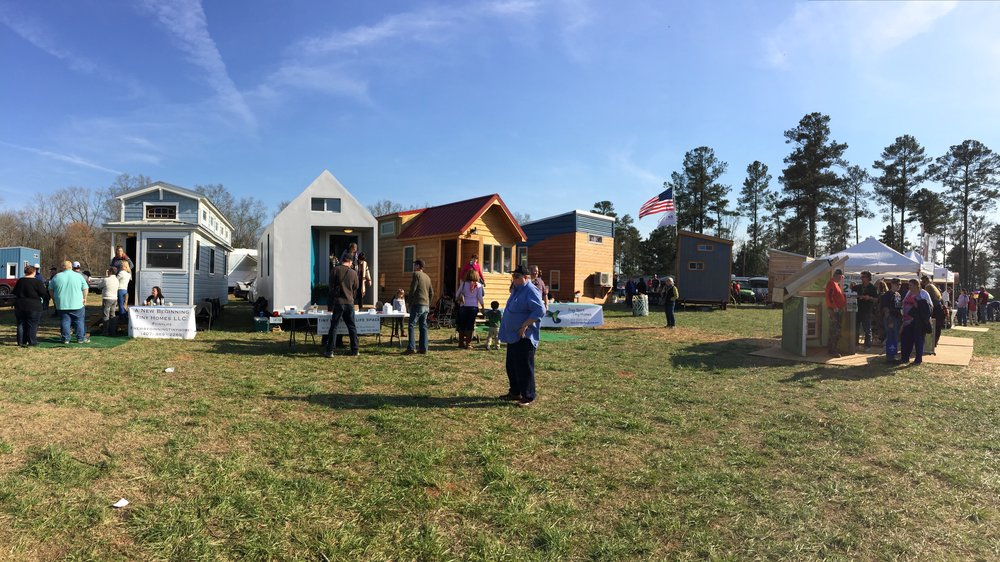 Another beautiful day for tiny house exploration!