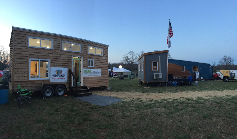 We also really enjoyed Bryan's Harmony Tiny Home designs out of Alabama