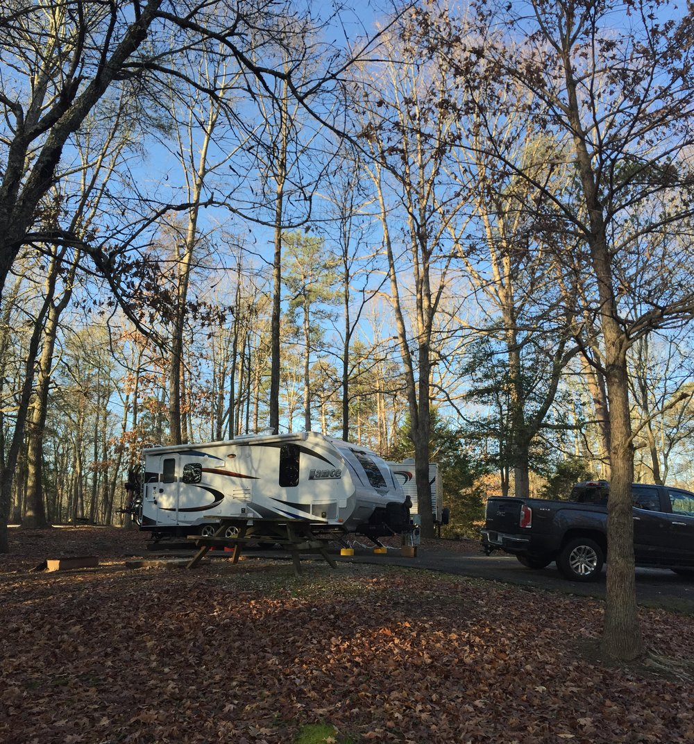 Campspot at Paris Mountain State Park