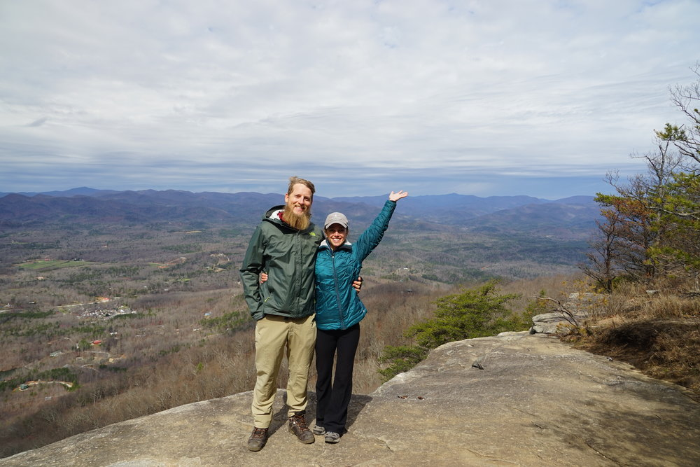 Top of Yonah Mountain