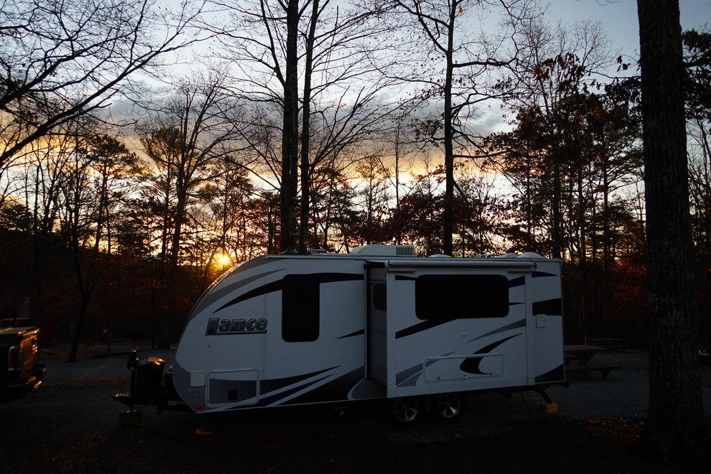 Camping at Tallulah Gorge State Park