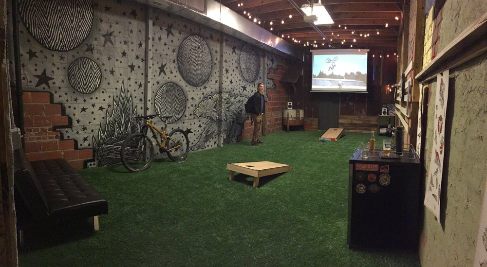 They also started an  outdoor social club  where they organized group trips monthly... you also have access to this cozy game/hangout room!