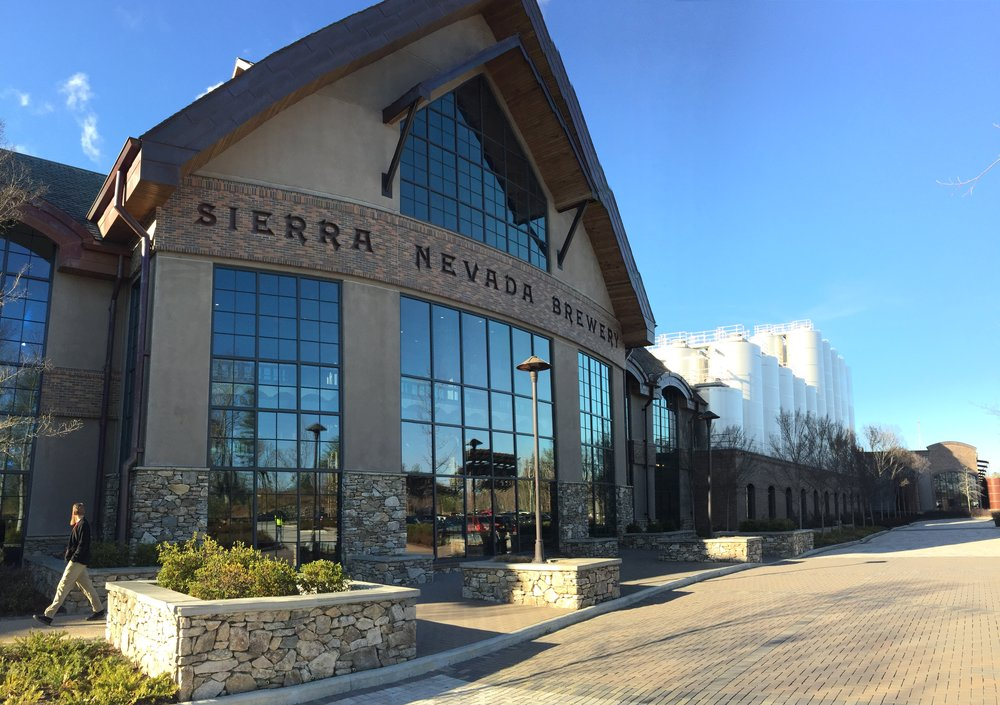The unreal/disney worldworld-esque Sierra Nevada Brewery