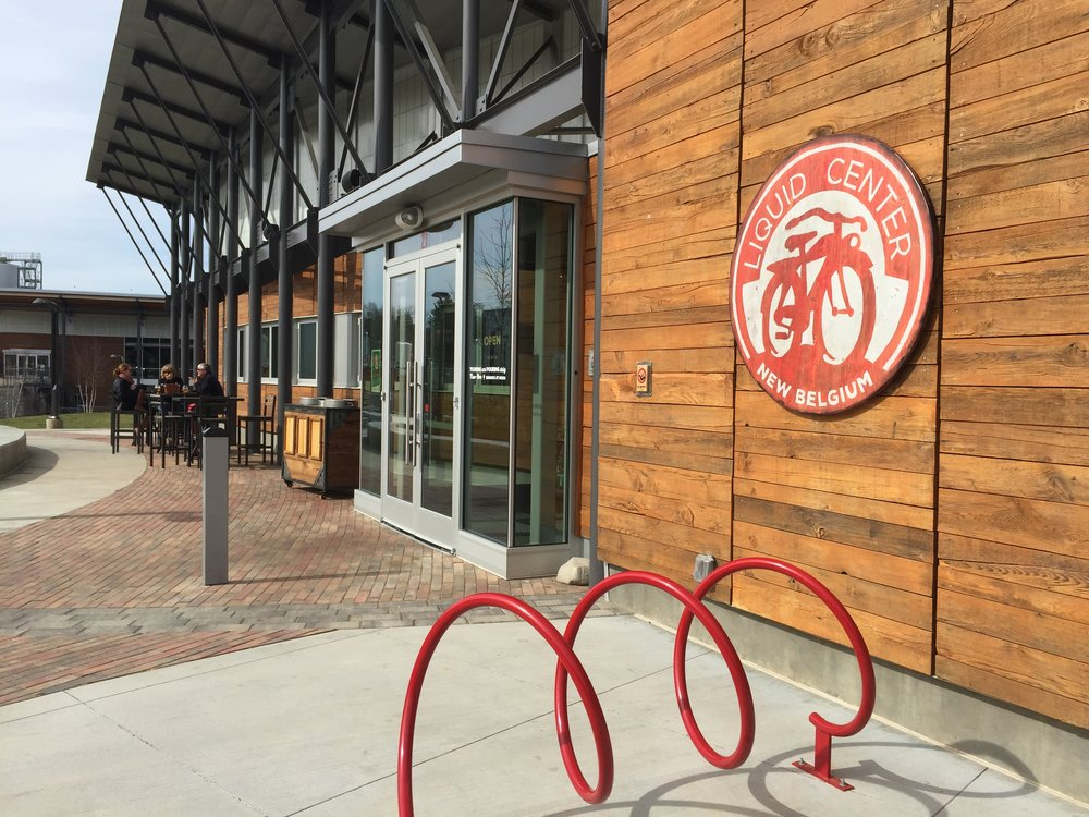 "Exploring the ""Liquid Center"" at  New Belgium Brewery"