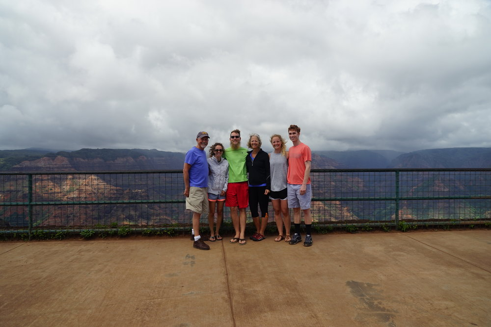 Somehow we managed to make it look like this overlook was empty...