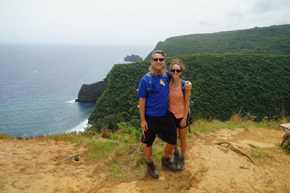 Honokane Nui Valley overlook