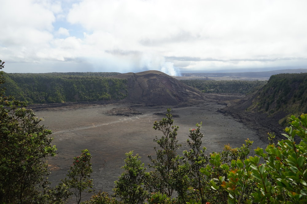 Views from   Kilauea loop trail