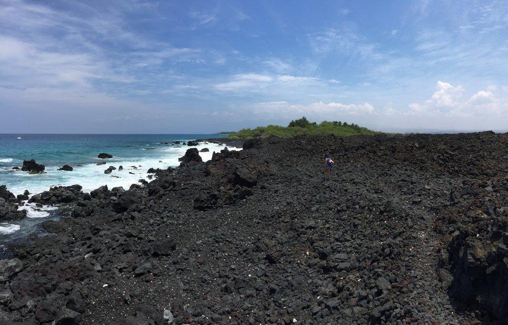 Hiking the  Keawaiki Bay to ʻAnaehoʻomalu Bay Loop