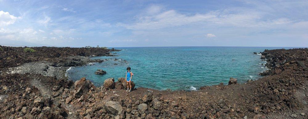 Keawaiki Bay to ʻAnaehoʻomalu Bay Loop