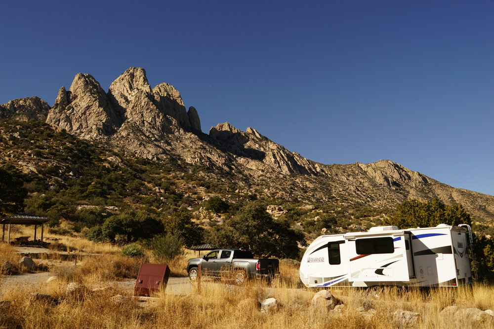 Aguirre Springs Campground, New Mexico