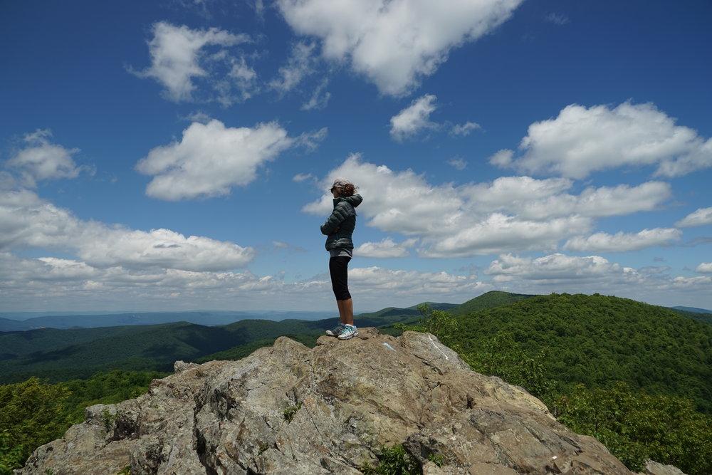 Hike to   Bearfence Mountain  ,Shenandoah National Park