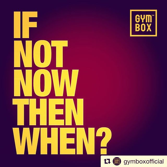 GYMBOX - SERVING UP LESSONS FOR LIFE SINCE DAY ONE. Change it up people. Ain't nobody else gonna do it for you. 🖤✌🏻🐺 @gymboxofficial #keepgoing #gettoit #progress #goals #personaltrainer #energy #dontstop #train #fitness #mindset #ukfitfam #fitfam #instafit #gym #bodytransformation #bodybuilding #fitnessmodel #workout #muscle #fitlife #physique #transformation #fitspiration #fit  #instahealth #training #fitbit #guyswithbeards #guysoflondon