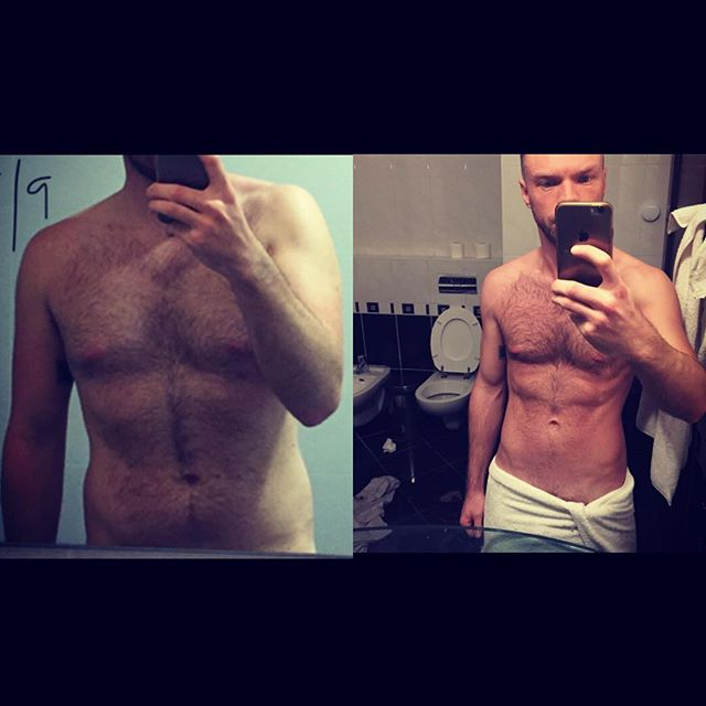 SHOUTOUT: To @mralexthethird who in 5 months working together has transformed his body. Shed a load of fat, massively improved his posture, increased his strength across all areas and is healthier and happier outside of the gym: AND THATS THE MOST IMPORTANT THING! Well done Alex for all your dedicated hard work, I'm excited to see your next progress pic! (Hopefully without your bog in the background next time!!🙄😂😉) #keepgoing #gettoit #progress #goals #personaltrainer #energy #dontstop #train #fitness #mindset #ukfitfam #fitfam #instafit #gym #bodytransformation #bodybuilding #fitnessmodel #workout #muscle #fitlife #physique #transformation #fitspiration #fit  #instahealth #training #fitbit #guyswithbeards #guysoflondon