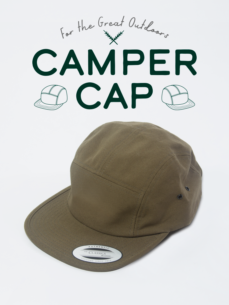 5 Panel Camper Cap Jockey Green