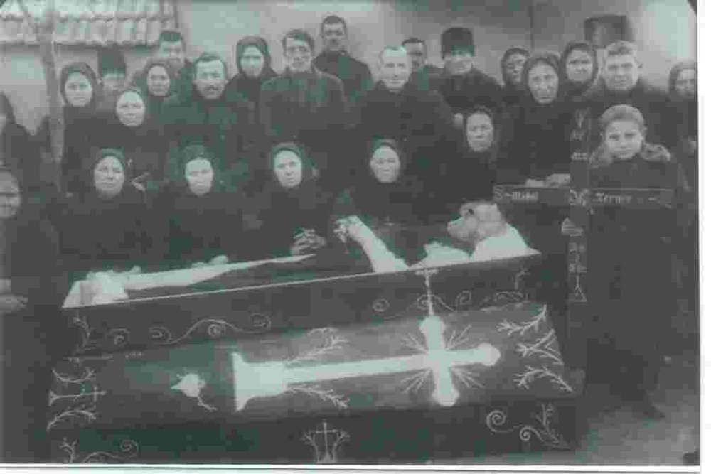 Funeral of Michael Ternes in 1929