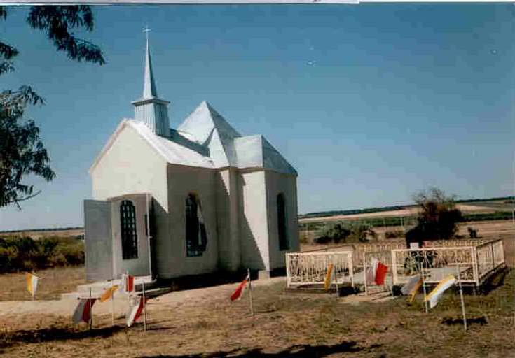 Chapel in Cemetery Krasnoe 1996