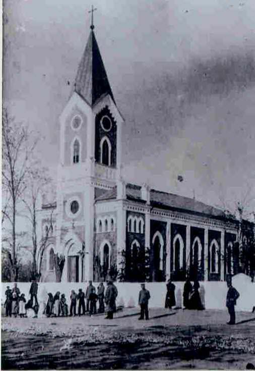St Anthony Catholic Church, Karamurat 1940