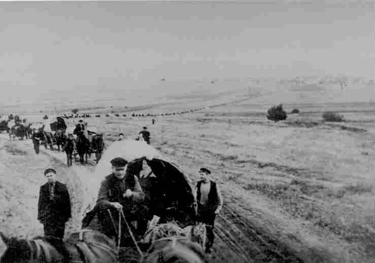 Leaving Krasna 1940