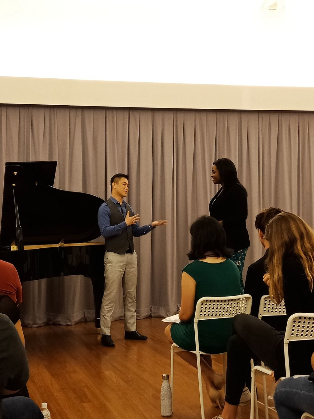 Masterclass with soprano Angel Blue