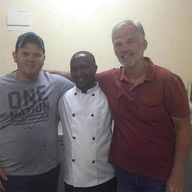 Had the pleasure of meeting Chef Benjamin in Nairobi, Kenya! It's awesome meeting people from other parts of the world who also love to cook!