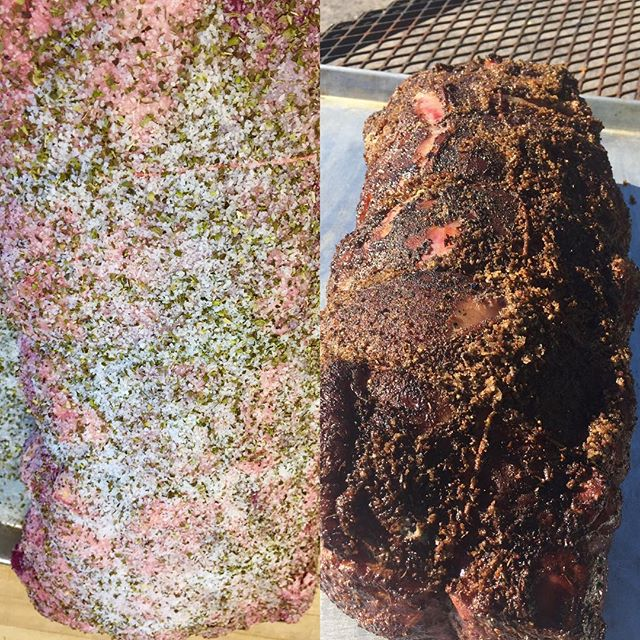 #transformationtuesday #beforeandafter #smokedribeye