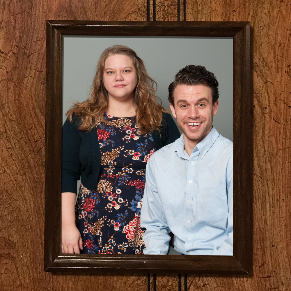 Gail  (Caitlin Weber) &  Junior  (Aaron Henry)