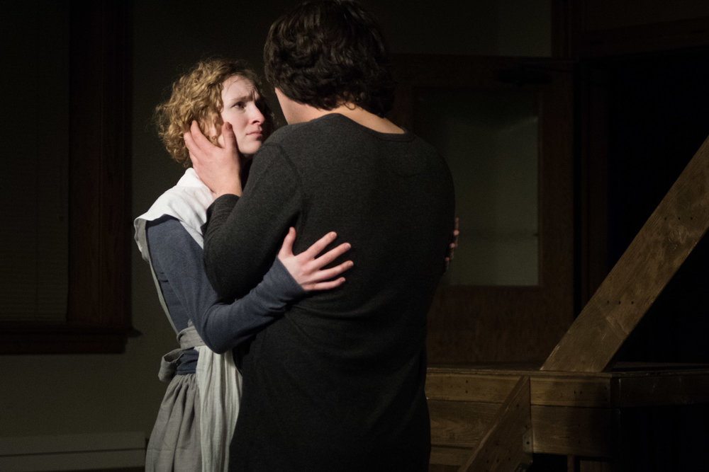 Leah Christine as Hester & Theo Ebarb as Dimmesdale