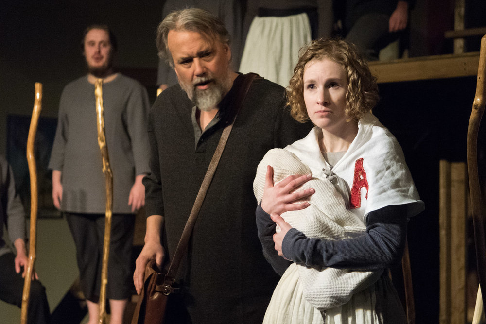 Rob Andersen as Chillingworth & Leah Christine as Hester