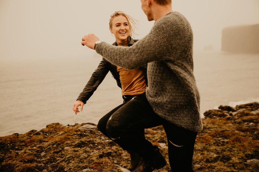 Iceland Couple