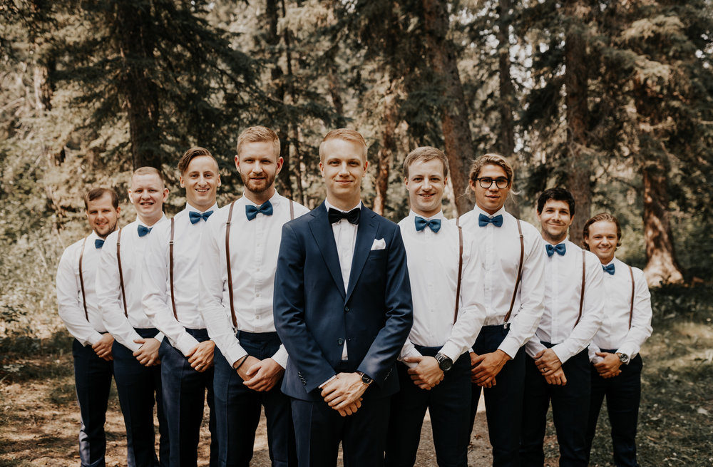 Groomsmen Photos l Banff Wedding l Calgary Wedding l Oregon Wedding Photographer l Katy Rose Photo-15.jpg