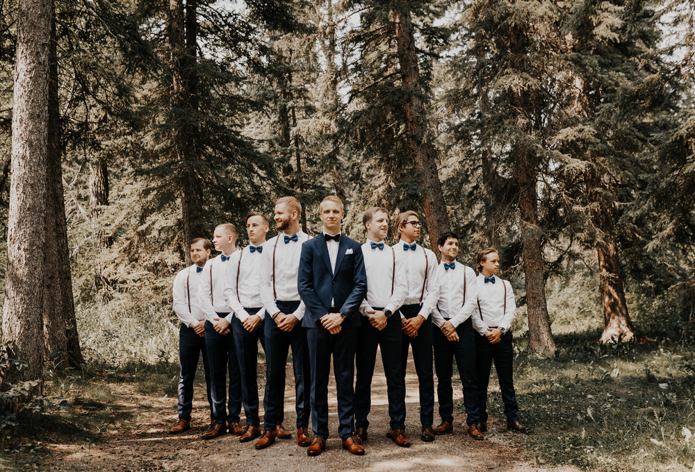 Groomsmen Photos l Banff Wedding l Calgary Wedding l Oregon Wedding Photographer l Katy Rose Photo-23.jpg