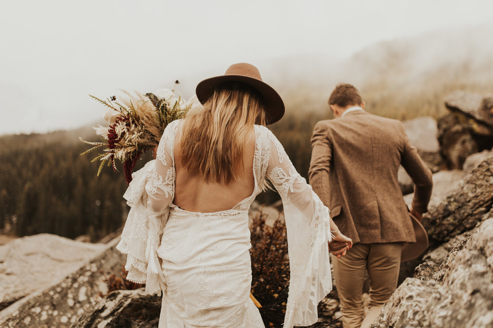 Banff Elopement l Lake Moraine Elopement l Vintage Bolo Tie l Pampas Grass Boho Boquet l Rue Design Wedding Dress l Banff Wedding Photographer l Destination Wedding Photographer l Katy Rose Photo_-33.jpg