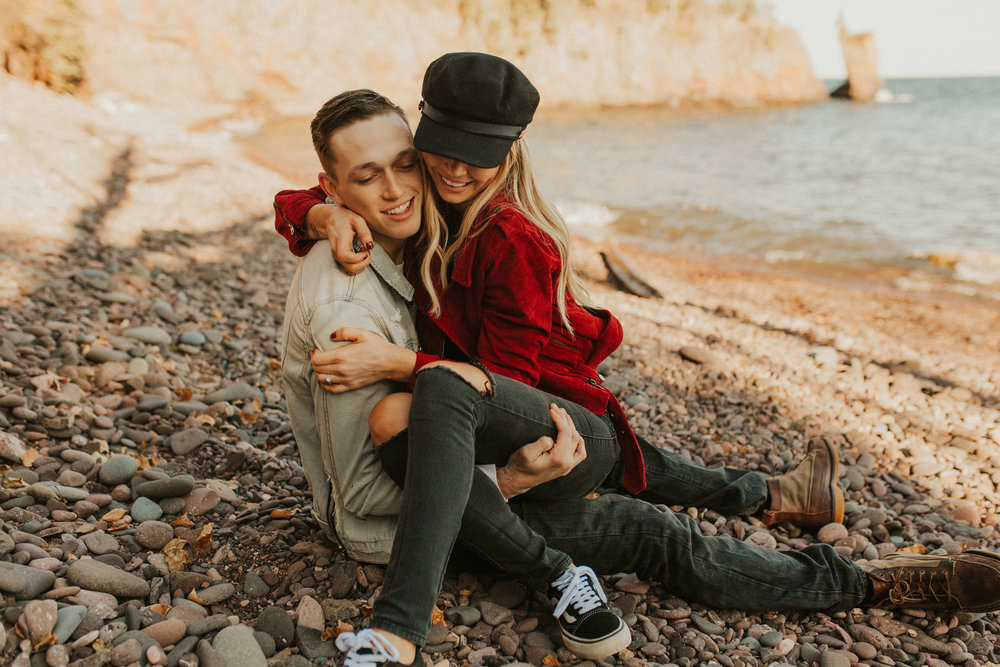 Kailey & Alex Engagment Session l Palisaide Head l North Shore_-54.jpg