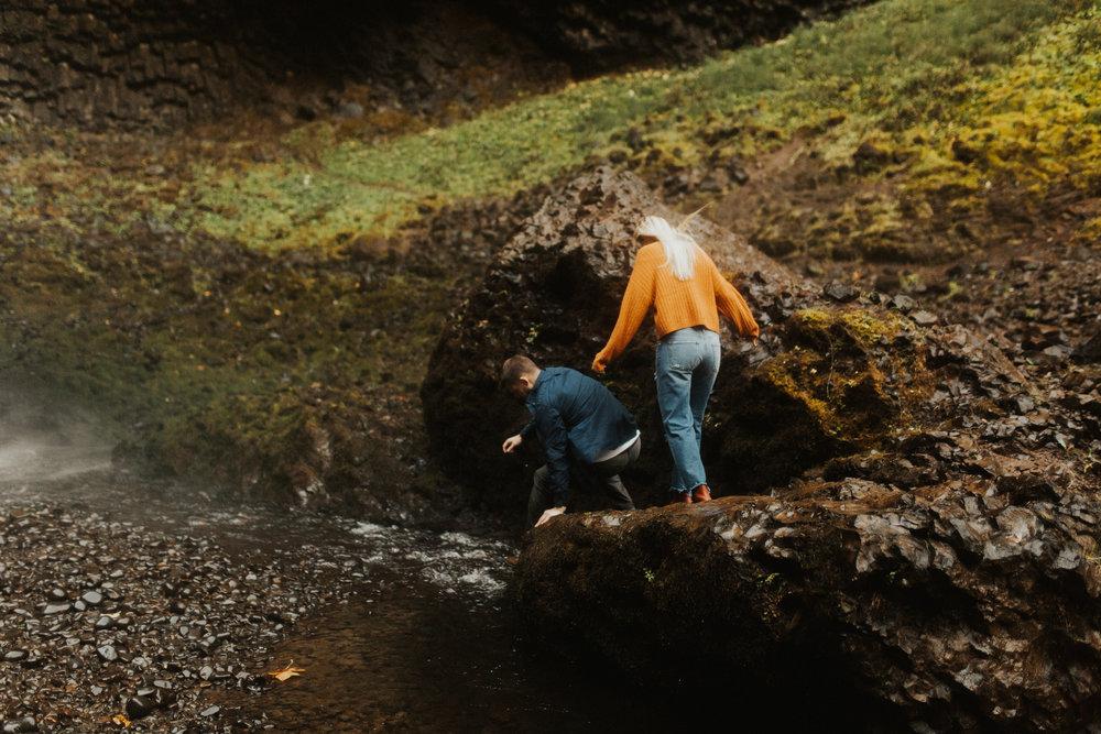 LaChelle & Ben Oregon Engagements l Latourell Falls-40.jpg