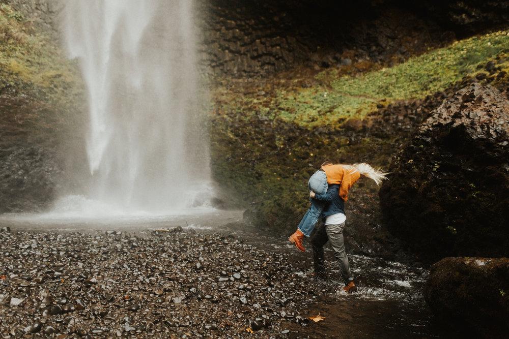 LaChelle & Ben Oregon Engagements l Latourell Falls-42.jpg