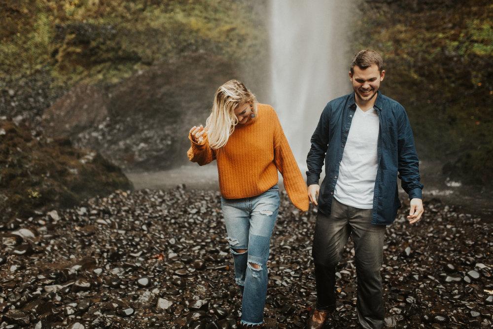 LaChelle & Ben Oregon Engagements l Latourell Falls-47.jpg