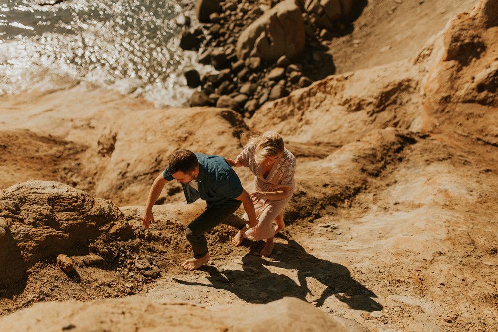 LaChelle & Ben Oregon Engagements l Latourell Falls-78.jpg