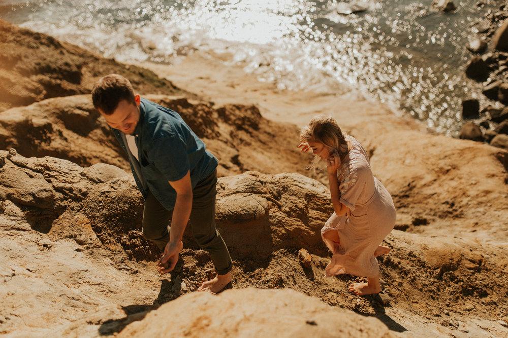 LaChelle & Ben Oregon Engagements l Latourell Falls-80.jpg
