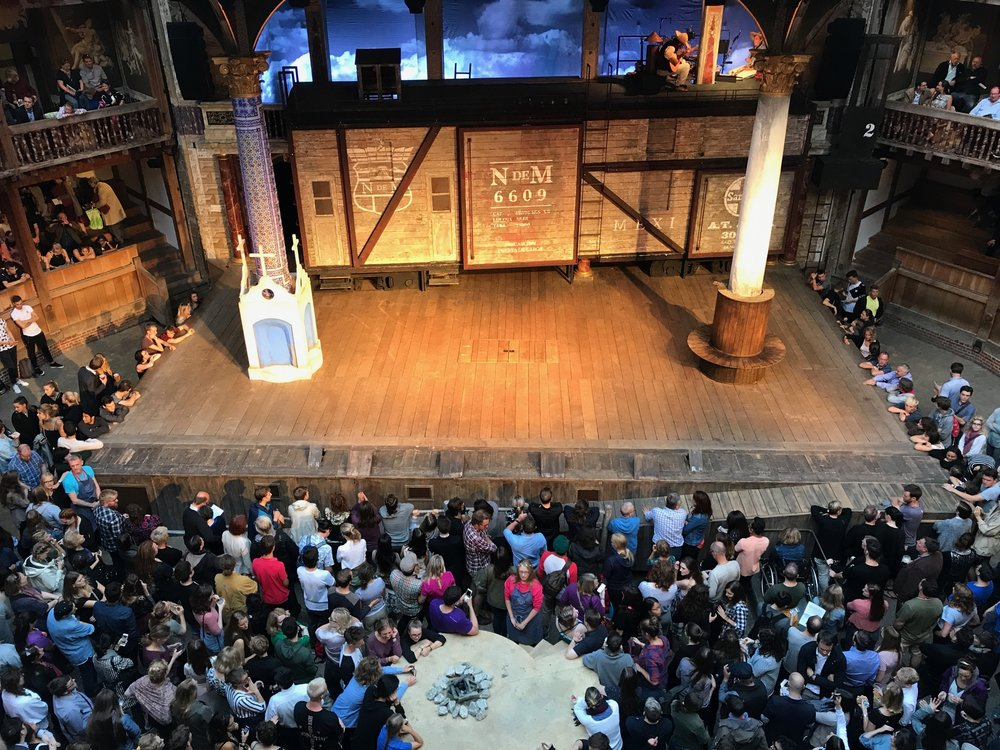 Much Ado about Nothing at the Globe.