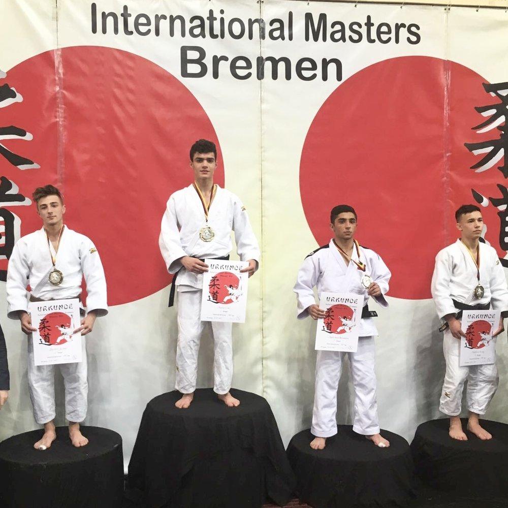 Mateo beim Bremen Masters 2017